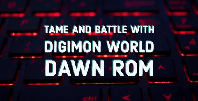 Digimon World Dawn Rom
